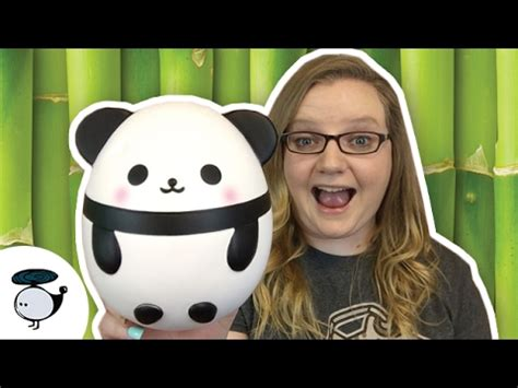 Panda Egg Squishy panda egg squishy squishy package from squishyshopind