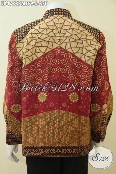 P246 Kemeja Pria Modern Elegan Kwalitas Tinggi Size Lengkap produk terbaru busana batik lengan panjang furing