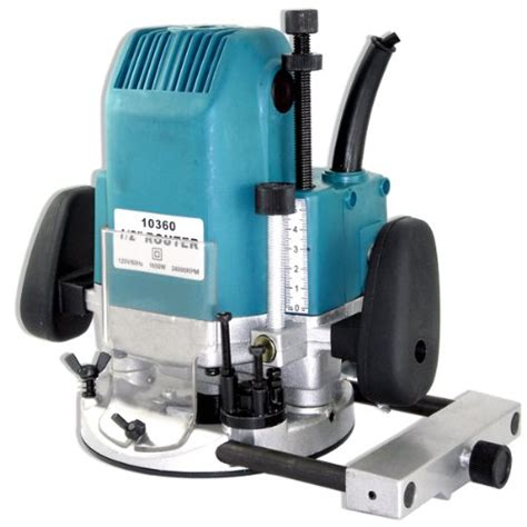 woodworking power tool reviews new 2hp plunge router woodworking tools power tools 1 2