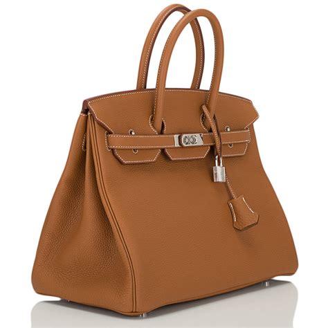 Hermes Hm057 Gold 1 hermes gold 35 cm togo leather birkin bag with gold faux birkin