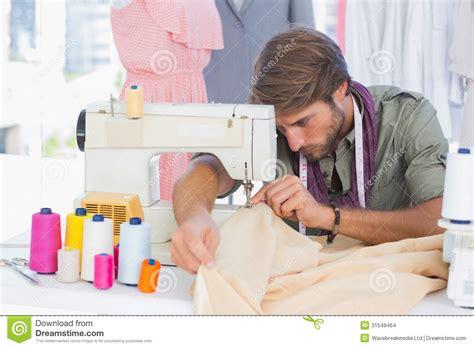 Cool Office Desk handsome fashion designer sewing stock images image