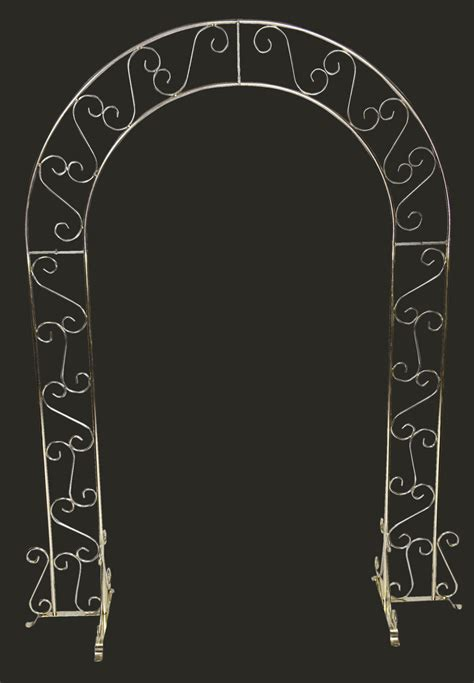 Wedding Arch Omaha by Silver Or Brass Standard Arch United Rent All Omaha