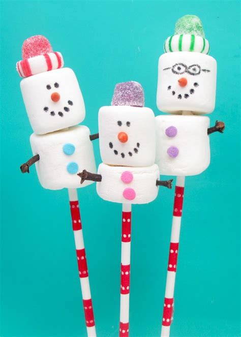 25 best ideas about marshmallow snowman on pinterest