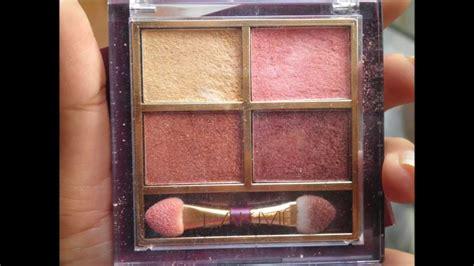 Eyeshadow Wardah Seri G Review lakme eye color quartet eye shadow palette desert review