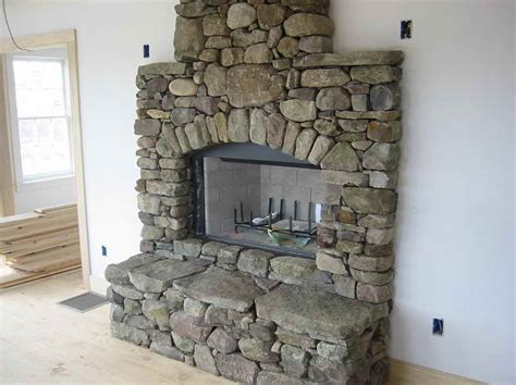 Decorative Stones For Fireplace by Fireplace Tile Ideas Stroovi