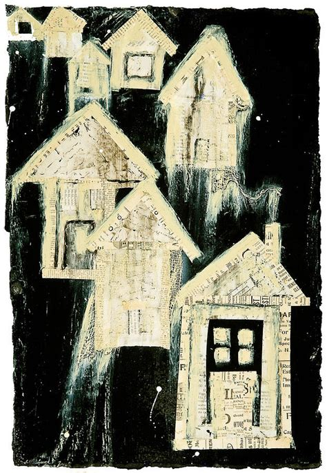 Tar Paper House by Tar Paper Houses I Mixed Media By