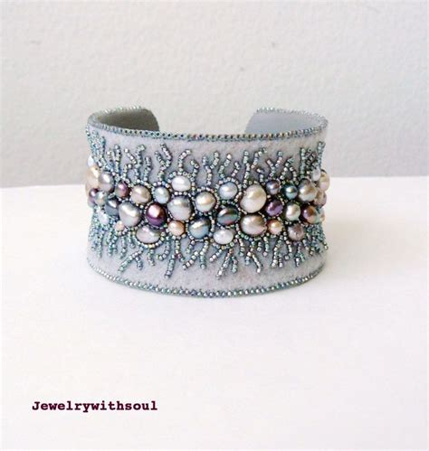 bead embroidery bracelets 1000 images about embroidery cuffs bracelets on
