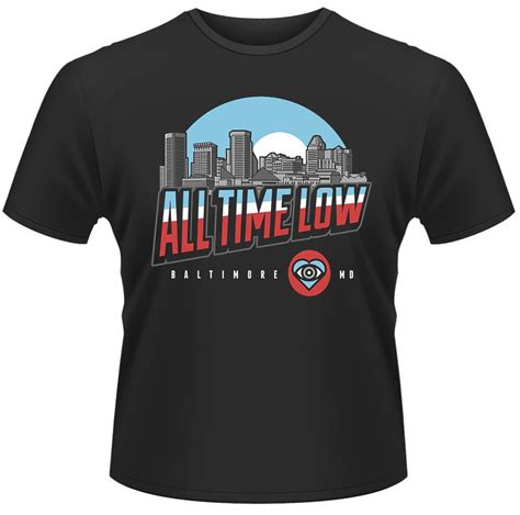 All Time Low Shirt all time low baltimore t shirt s t shirts
