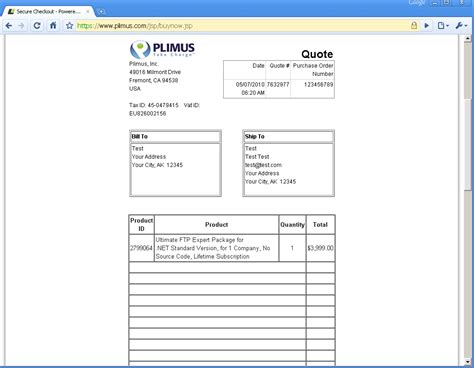 pro forma purchase order template proforma invoice