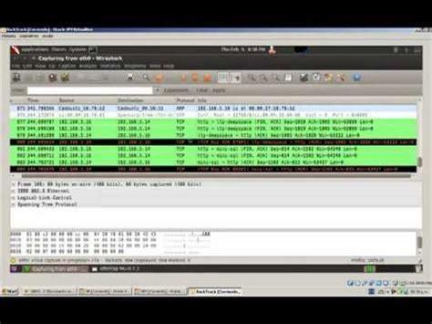 wireshark backtrack tutorial arp spoofing tutorial doovi