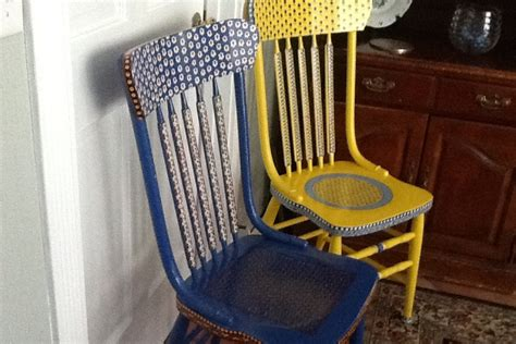 Painted Armchair by Painted Chairs Diy
