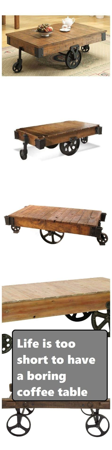 railroad cart table 17 best images about railroad cart coffee tables on