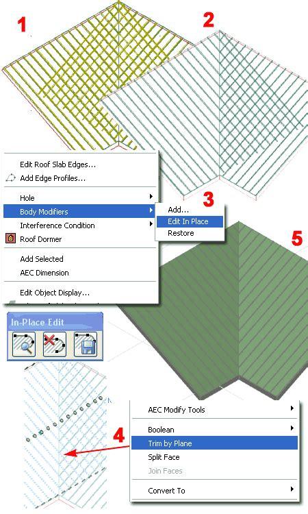 Autocad Architecture Body Modifiers For Seams