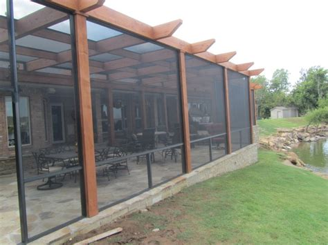 Screened Pergola Screened In Pergola