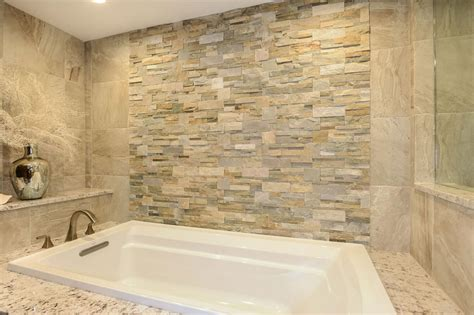 bathroom stone wall photos hgtv