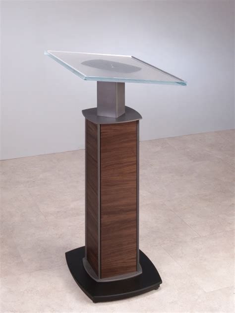 Large Desks by Modern Lecterns Modern Podium Custom Lecterns