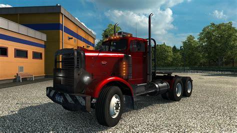 Peterbilt 379 Interior Peterbilt 351 V7 0 Euro Truck Simulator 2 Mods