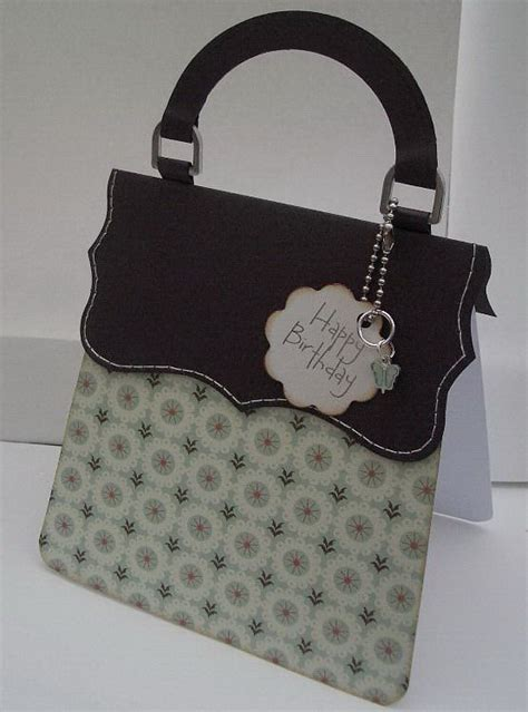 card bag ideas handbag card