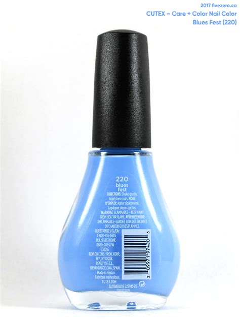 Cutex Nail by Cutex Blues Care Color Nail Color Swatch