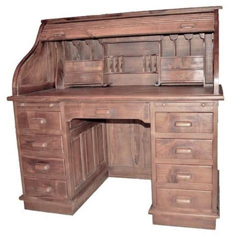 bureau style americain solide teck bureau en bois et style am 233 ricain