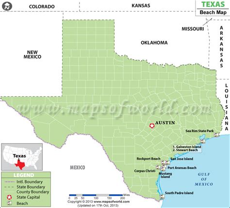 beaches in texas map beaches in texas best texas beaches map
