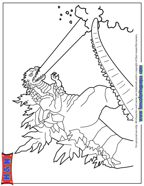 2014 ice breath godzilla coloring page h m coloring pages