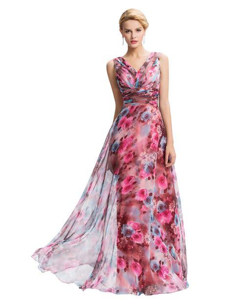 pattern elegant dress aliexpress com buy grace karin long evening dress 2016