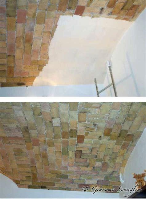 soffitto a volta mattoni soffitto a volta in mattoni giacomo sonaglia