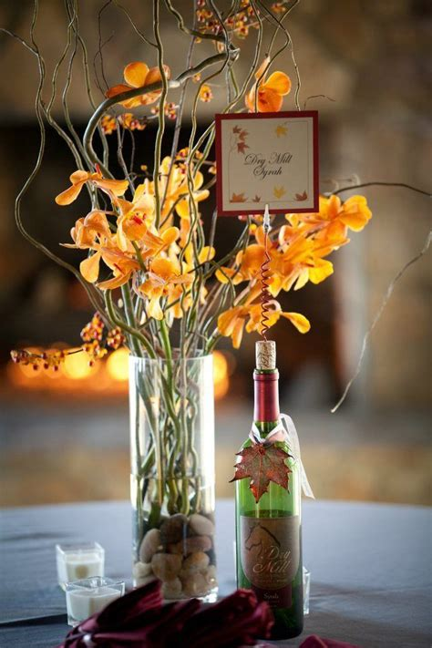 Wine Vase Name by I The Simplistic Orange Flowers In Glass And The Wine