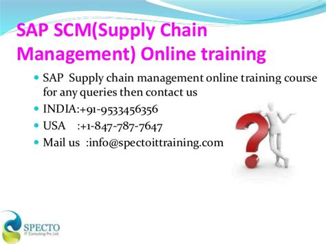 Opportunities For Mba In Logistics by Supply Chain Management Diploma Courses In Canada Best