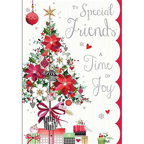 printable christmas cards for a friend luxury christmas card jj8800 special friends tree