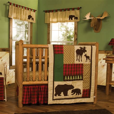 northwoods crib bedding trend lab northwoods 6 crib bedding set baby baby bedding baby bedding sets
