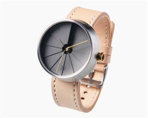 designboom watch verge s gold plated anchor bracelet bound with leather
