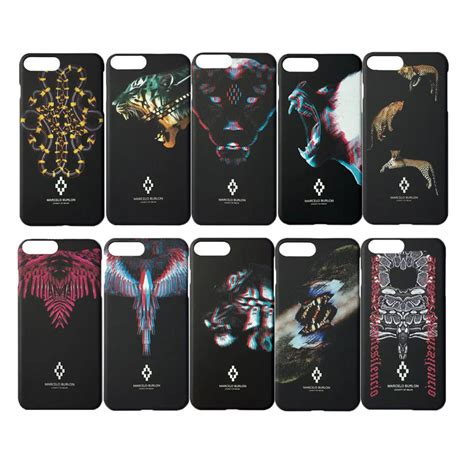 Marcelo Burlon Multicolor Iphone Iphone 6 7 5s Oppo F1s Redm new 2017 for iphone 6 6s 5s 7 7 plus marcelo cover leopard tiger snake pc for iphone
