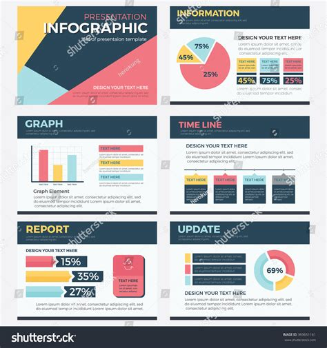 powerpoint templates update set of infographic presentation template powerpoint