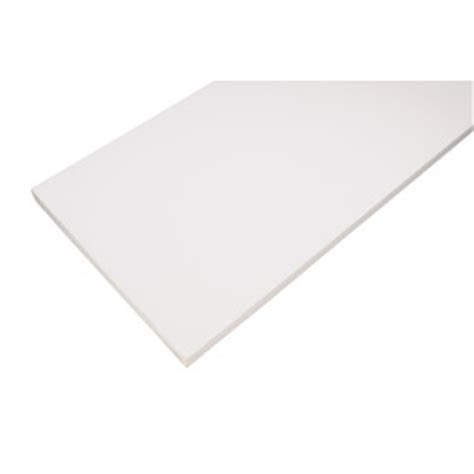 White Laminate Shelf Boards by Shop Blue Hawk Laminate 23 3 4 In X 7 3 4 In White Shelf