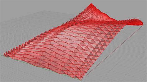download pattern grasshopper grasshopper 3d folded plates design de diagrams