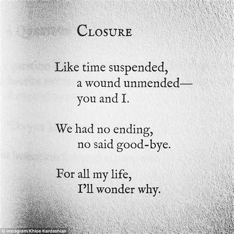 Kunnies Blog Khloe Kardashian Posts Heartfelt Poem About