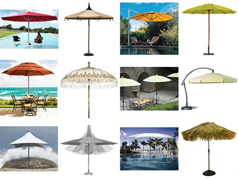 Patio Umbrellas And Outdoor Parasols Best Picks For 2008 Fancy Patio Umbrellas