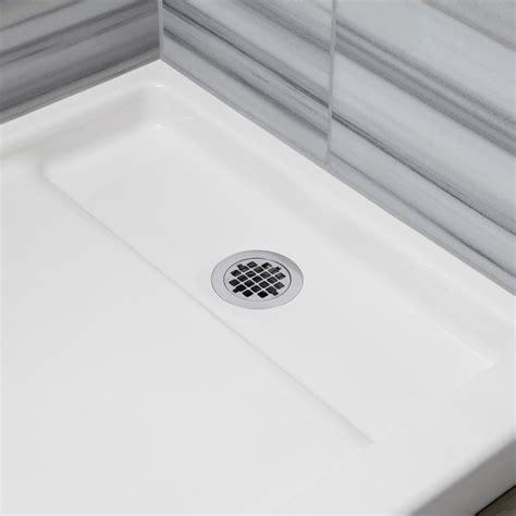 Plastic Foot Cover For Shower by Kohler K 9184 96 Bellwether Plastic Drain Cover For 60