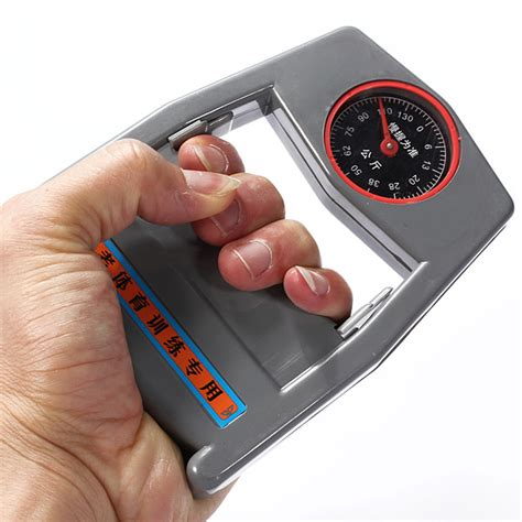 hand held dynamometer grip reader strength counter fitness
