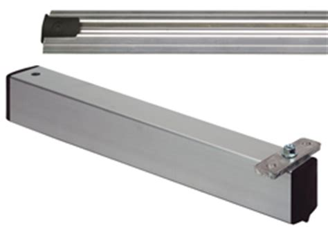 Shelf Track System by Wire Shelving High Density Sliding Track System Components