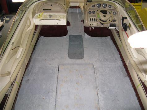 Boat Floor Replacement by Floor Repair Starboard Marine Repair Service Boat