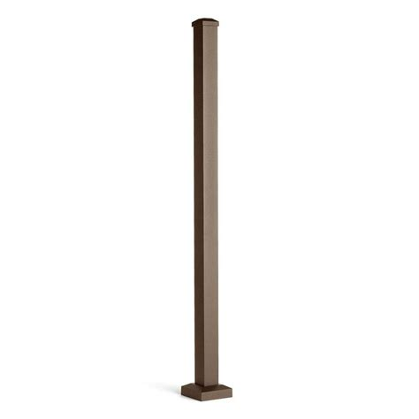L Posts Lowes by Shop Trex Actual 2 5 In X 2 5 In X 4 416 Ft Signature