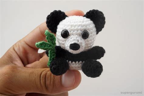 amigurumi panda amigurumi crochet panda pattern supergurumi
