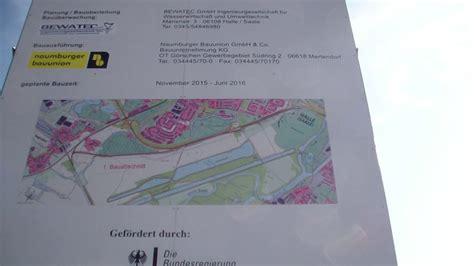Baustellenschild Sachsen Anhalt by Schadensbeseitigung Durch Das Land Am Passendorfer Deich