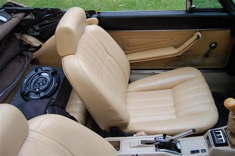 fiat spider leather seat covers seat upholstery carpet sets interior panels headliners