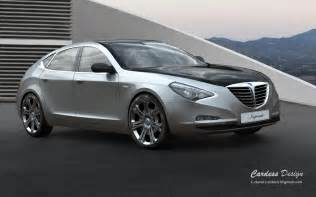 Lancia Sedan Rendering Lancia Imperiale Flagship Sedan Autoevolution