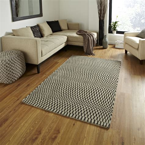 Optical Illusion Rugs For Sale by Knotted 100 Wool Wave Effect Sonic Rug Modern