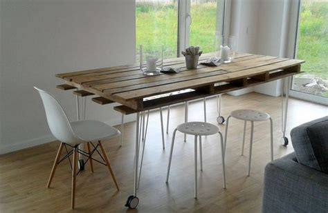 Pallet Dining Table Diy 13 Wooden Pallet Dining Table Ideas Pallet Wood Projects